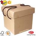 Boîte de rangement en papier personnalisée