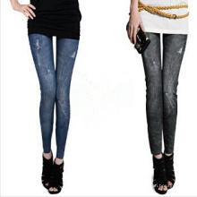 2015 novas mulheres de design skinny impresso leggings (mc-2)