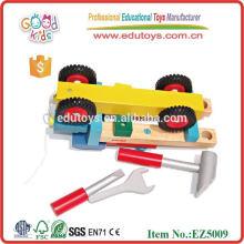 Fertigen Sie hölzerne Werkzeug-Spielwaren für Verkauf besonders an