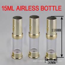 Good Market! 15ml Gold Airless Packing Bottle/ Skin Care Airless Bottle