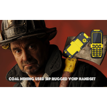 Coal Mining Used SIP Rugged VOIP Handset