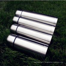 Tasse d'eau en acier inoxydable à vide écologique