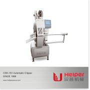 Industriell Automatisk Korv Dubbel Clipper