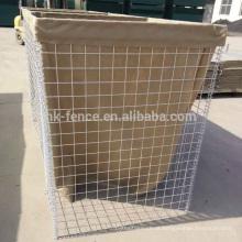 Alta qualidade de gabião soldado cesta para venda / resistente galvanizado gabião cesta sistema de proteção fábrica atacadista desconto