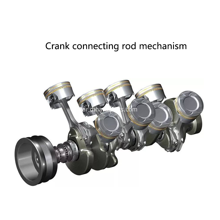 Crank connecting rod mechanism