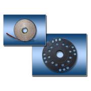 Fe Rodamiento de peso adhesivo (embalaje de disco)