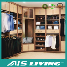 Conveniente e elegante mobiliário de quarto construído em guarda-roupa (AIS-W011)