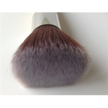 Custom Logo Long Bamboo Handle Cepillo de maquillaje Kabuki