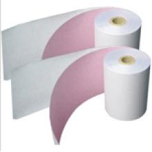 Rollo de papel térmico del recibo de la etiqueta vendedora caliente