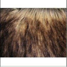 China New Product for Tops Knitting Fur Long Hair Faux Fur supply to Peru Wholesale