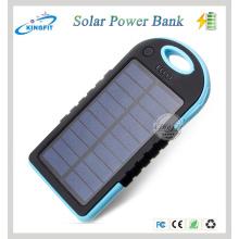 Наружное водонепроницаемое солнечное зарядное устройство банка мобильной власти 5000mAh