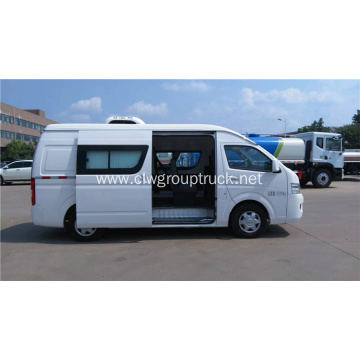 Foton Double row refrigerated truck Diesel(2+3 seats)