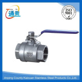 Tongqu NO.1 high quality stainless steel 2pc ball valve