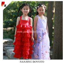 girls floor length formal Christmas dress