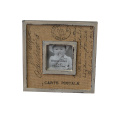 Rustic Frames with Distressed Finish for Home Decoration