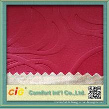 Mode chinoise gaufrage PU vinyle
