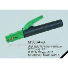 Melhor Eletrodo cabeça titular americano tipo 500A-3