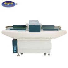 Machine de détection de métaux et d'aiguilles pour l'industrie du vêtement et de la confection