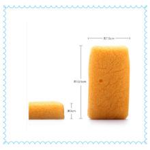 Fibra de planta açafrão amarelo Konjac esponja