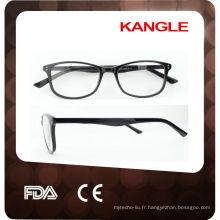 nouveau style 2015, vogue TR90 lunettes cadre pour les femmes