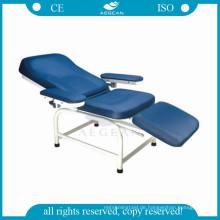 AG-XS105 manuelle einstellbare Klappbett medizinische Untersuchung Stuhl