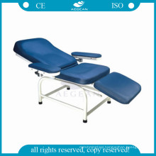 AG-XS105 Manual adjustable by knob medication blood transfusion reclining hospital chairs