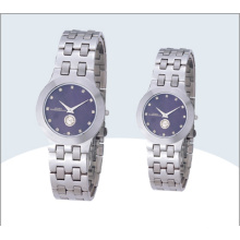 Stainless Steel Couple Watch, Quartz Watch (15179)