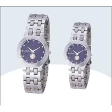 Stainless Steel Couple Watch, Quartz Watch (15179)