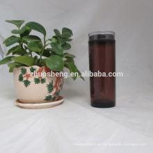 botella de jugo simple de plástico de alta calidad personalizados respetuoso del medio ambiente