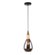 Nordic Modern Handmade Amber Color Glass Pendant Lamp
