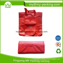 Portable PP Non Woven Tote Foldable Promotional Bag
