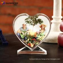 Foto de cristal de sublimación BXP13 Love Screen 105 * 110 * 35 mm