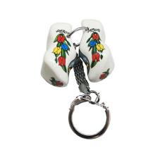 Fashion Wood Dutch Schuh Schlüsselanhänger mit Logo für die Förderung