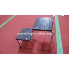 Ступень пациента из нержавеющей стали / стул для ног в больнице / ступня для ног
