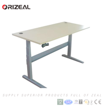 120V 240V AC adjustable height stand up lifting desk with motor