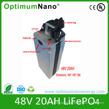 E-Bike 48V 20ah LiFePO4 Battery Pack