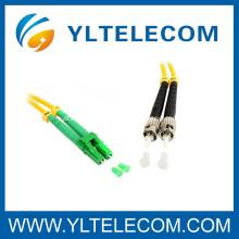 LC / ST Optical Fiber Patch Cord 9/125um Singlemode for CATV / FTTH / LAN