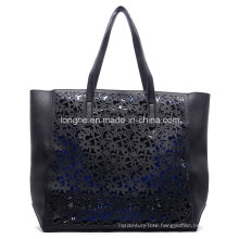 Fashion Laser Cut Bag in Bag Ladies Tote Bag (ZXS0084)