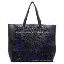 Fashion Laser Cut Bag in Bag Ladies Tote Bag (ZXS0084)