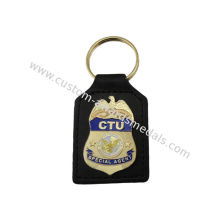 Ctu Special Agent Custom Aluminum, Soft Pvc, Leather Key Chain / Customized Keychain