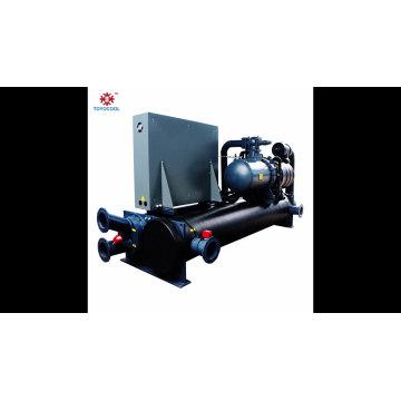 Abra o chiller de parafuso refrigerado a água industrial de 3-35 Kw