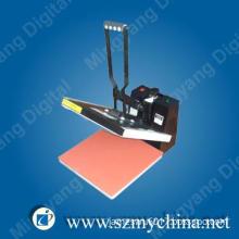 """flat t shirt heat press transfer printing machine 38x38cm 15""""x15"""""""