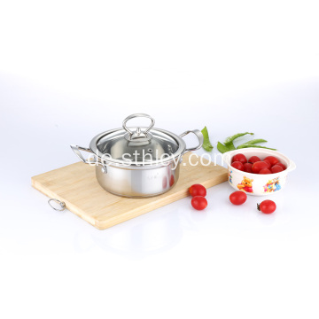 201 Edelstahl Mini Suppe Hot Pot
