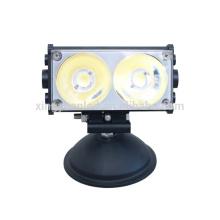 40W COB Super Bright 8D Offroad barra de luz recta para ATV SUV