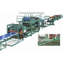 QJ cnc 980 sandwith linha de produção de painéis