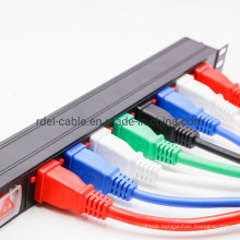Industrial 8 Outlet IEC PDU with Circuit Breaker Strip