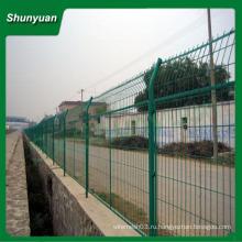Рама сварные сетки ограждения / забор из высококачественной проволочной сетки