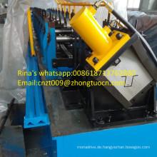 Metallkappenschienen-Omega-Kanalmaschinen-Kappenschienen-Rolle, die Maschine bildet