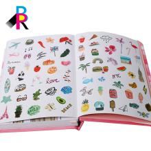 Pappe-Abdeckungs-Tagebuch der Agenda 2018 mit Bandbookmark