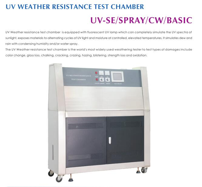 Uv Weathering Aging Tester